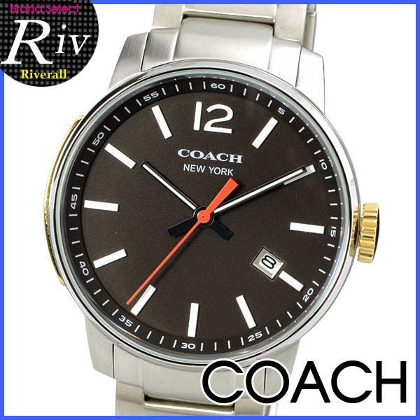 58dd7d924ae4 スペシャルセール コーチ COACH 時計 父の日 プレゼント メンズ ブリーカー 40mm 腕時計 14601522|riverall ...