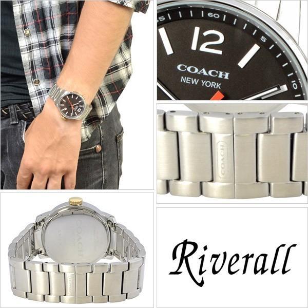 c05a4058e64a ... スペシャルセール コーチ COACH 時計 父の日 プレゼント メンズ ブリーカー 40mm 腕時計 14601522|riverall ...