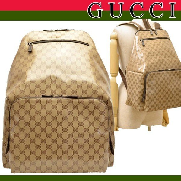 new style e132c 330ce グッチ バッグ GUCCI リュックサック デイパック バックパック ...