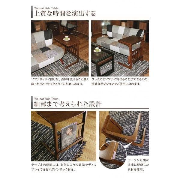 ソファテーブル サイドテーブル 北欧 木製  ソファーテーブル パソコン台|riverp|03