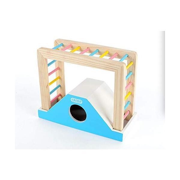 Eonpetハムスターおもちゃ人気ハムスターおもちゃ人気ハムスターのおもちゃハムスター木製ハムスター楽しいクライミングブリッ