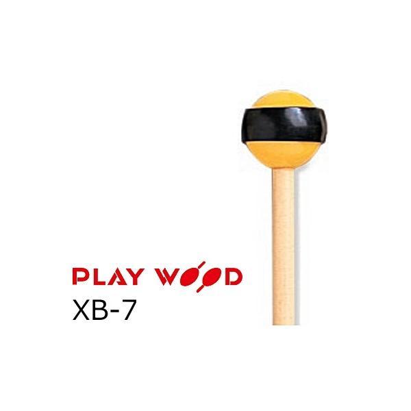 PlayWood/プレイウッド シロフォン&グロッケン用キーボードマレット 硬さ:MS(ミディアムソフト)  XB-7