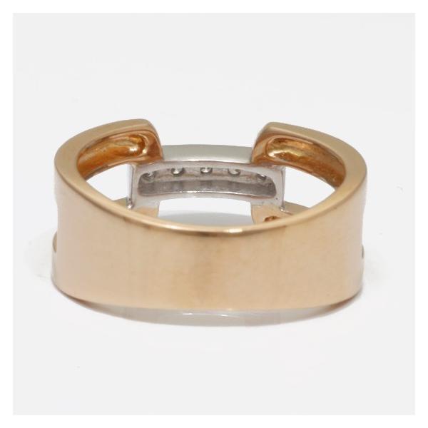 ヴァンドーム青山 リング 指輪 レディース ダイヤモンド 18金ピンクゴールド ホワイトゴールド VENDOME AOYAMA K18PG K18WG 2カラー 11号 18K 中古|rk-y|04