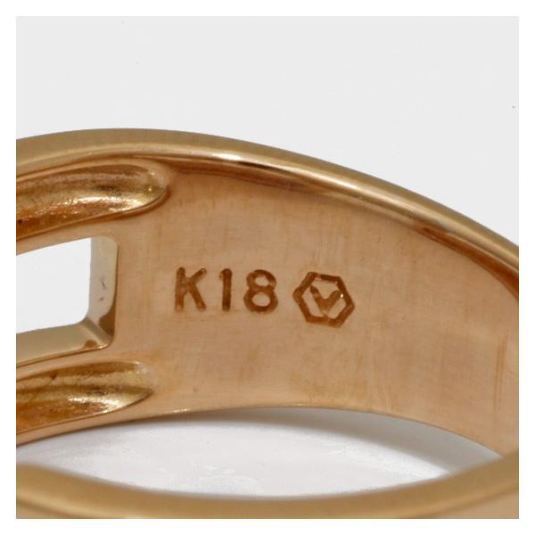 ヴァンドーム青山 リング 指輪 レディース ダイヤモンド 18金ピンクゴールド ホワイトゴールド VENDOME AOYAMA K18PG K18WG 2カラー 11号 18K 中古|rk-y|05