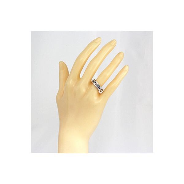 グッチ リング 指輪 レディース 18金 K18WG GUCCI 9号 #10 ホワイトゴールド BJ * 女性 かわいい オシャレ 中古 ring 価格見直し