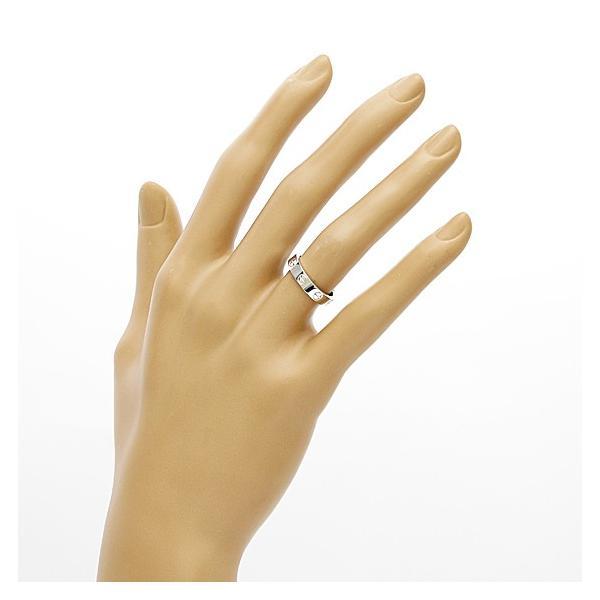 カルティエ リング 指輪 レディース 18金 K18WG Cartier ミニラブ #48 8号 ホワイトゴールド BJ ** 中古 ring 価格見直し|rk-y|02