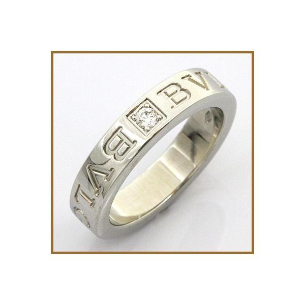 36b1288b43a4 ブルガリ リング 指輪 レディース 18金 K18WG ダイヤモンド BVLGARI 7.5号 ホワイトゴールド BJ * 中古 ...