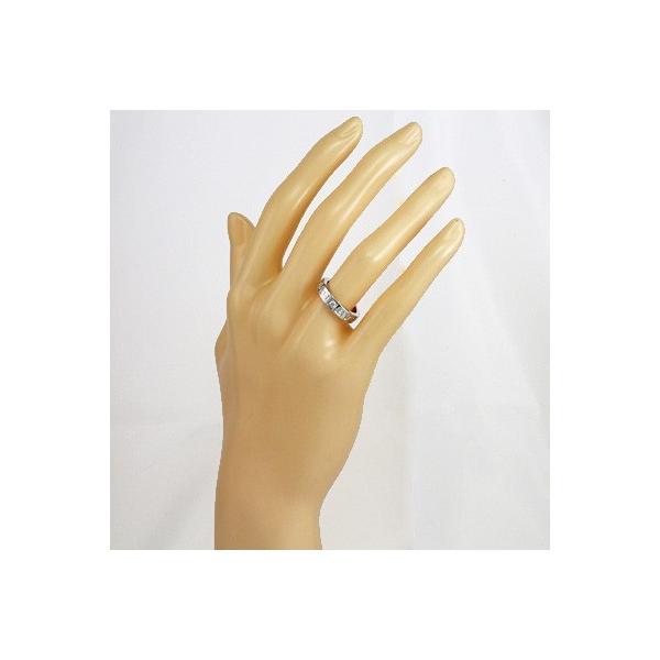 6f57257ac2e0 ... ブルガリ リング 指輪 レディース 18金 K18WG ダイヤモンド BVLGARI 7.5号 ホワイトゴールド BJ * 中古 ...