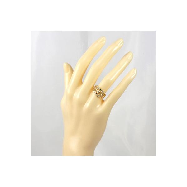 リング 指輪 レディース 18金 K18 ダイヤモンド D0.05 女性 かわいい オシャレ 中古 ring 価格見直し