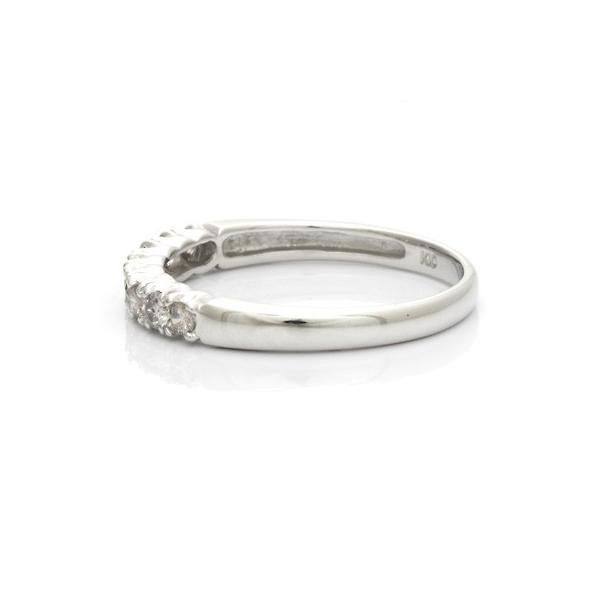 リング 指輪 レディース 10金 K10WG ダイヤモンド D0.30 ハーフエタニティ 女性 かわいい おしゃれ 中古 ring 価格見直し|rk-y|04