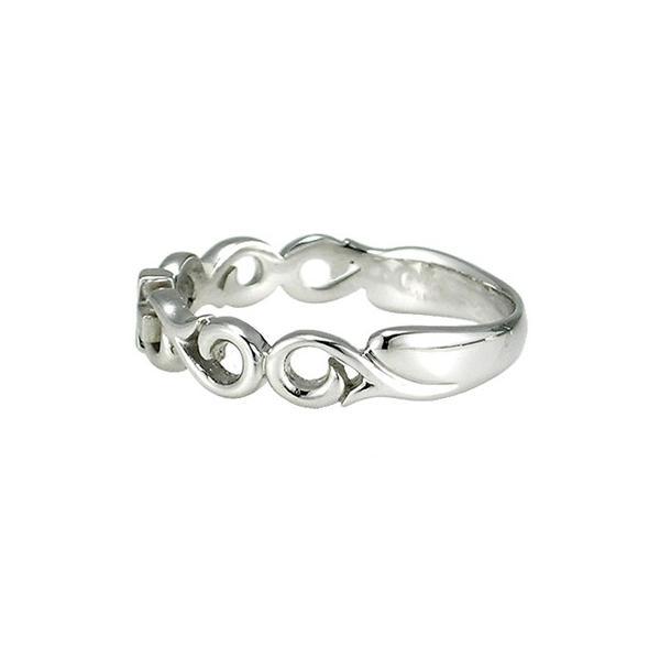 ペアリング 指輪 メンズ シルバー SV925 タトゥーライン 新品 オシャレ 男性