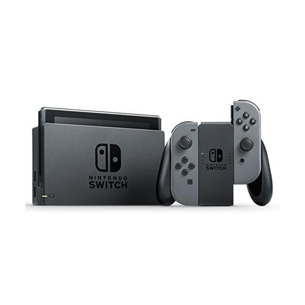 Nintendo Switch 本体 【グレー】(キャンペーンプリペイド番号なし) 旧モデル rkiss 02