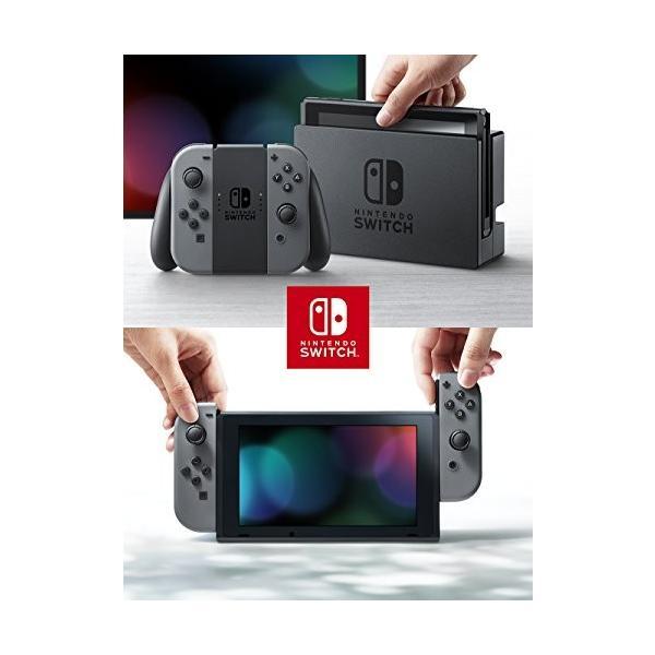 Nintendo Switch 本体 【グレー】(キャンペーンプリペイド番号なし) 旧モデル rkiss 03