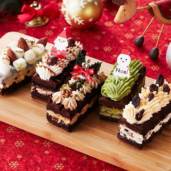 クリスマスケーキ 2020 予約 冷凍 Xmasブラウニードルチェ|rl-waffle|02