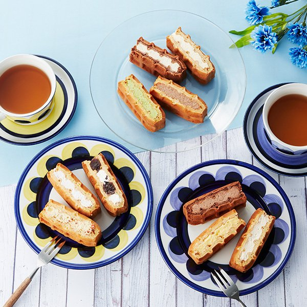 バレンタイン まとめ買い ワッフル ケーキ 50個セット 10個セット×5箱|rl-waffle|06