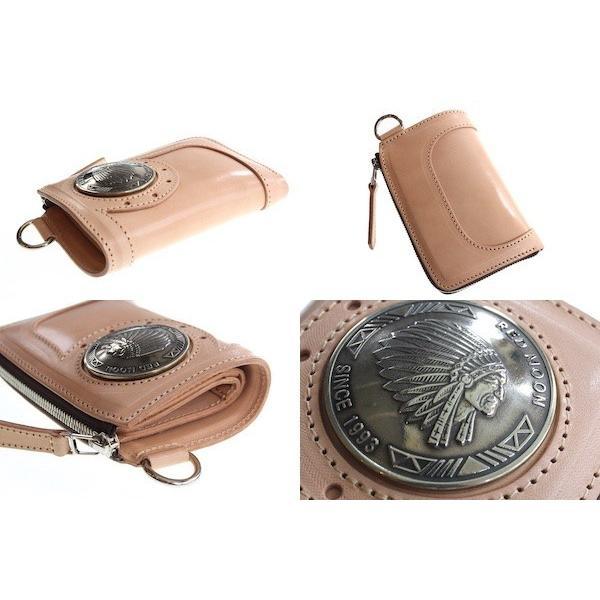 レッドムーン ウォレットREDMOON ハーフウォレット BAREBACK-01A51 L字ファスナー 51mmコンチョ サドルレザー 財布|rmismfukuoka|04