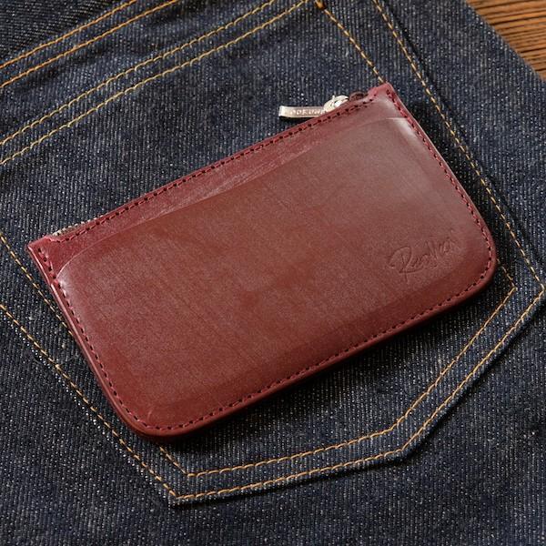 レッドムーン コインケース REDMOON BD-SW-L ラージサイズ ブライドルレザー カード入れ スマートウォレット レターパックプラス対応|rmismfukuoka