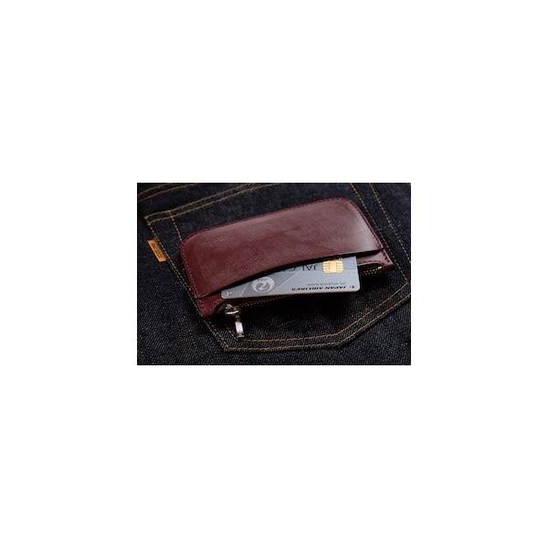 レッドムーン コインケース REDMOON BD-SW-L ラージサイズ ブライドルレザー カード入れ スマートウォレット レターパックプラス対応|rmismfukuoka|02