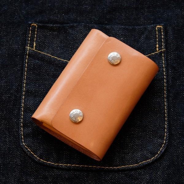 レッドムーン ウォレット REDMOON ショートウォレット GHOST-MW3 ミニウォレット 3つ折り 財布 サドルレザー|rmismfukuoka