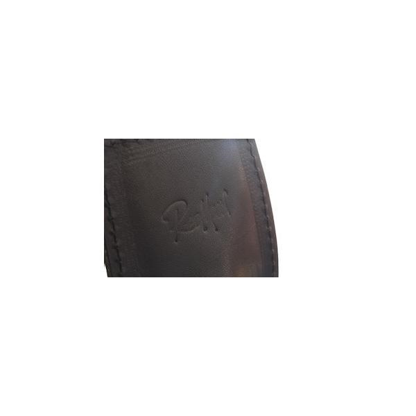レッドムーン バッグ  REDMOON ボディバッグ  LONGSHIP-LGM Lサイズ ショルダーバッグ オイルレザー 51mmコンチョ rmismfukuoka 11