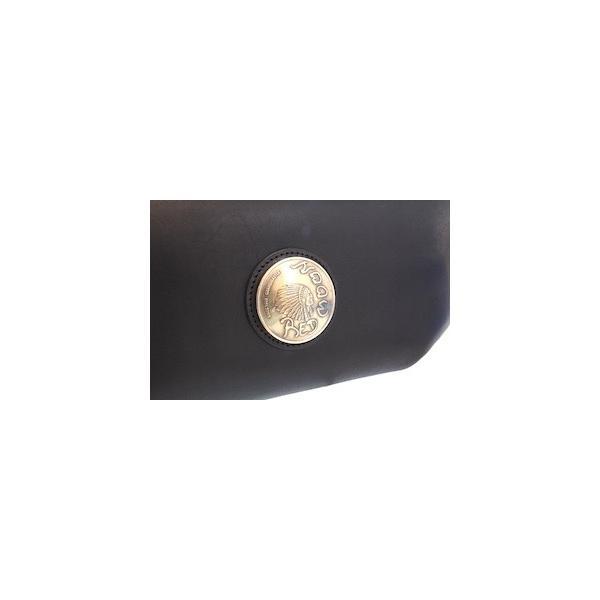 レッドムーン バッグ  REDMOON ボディバッグ  LONGSHIP-LGM Lサイズ ショルダーバッグ オイルレザー 51mmコンチョ rmismfukuoka 12