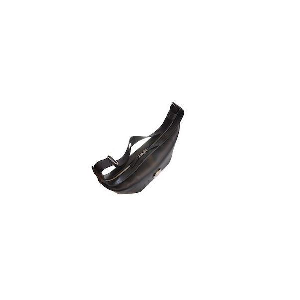 レッドムーン バッグ  REDMOON ボディバッグ  LONGSHIP-LGM Lサイズ ショルダーバッグ オイルレザー 51mmコンチョ rmismfukuoka 06