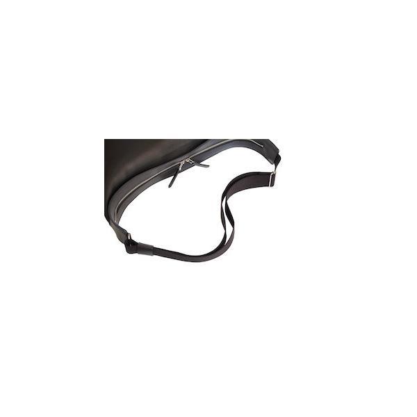 レッドムーン バッグ  REDMOON ボディバッグ  LONGSHIP-LGM Lサイズ ショルダーバッグ オイルレザー 51mmコンチョ rmismfukuoka 07