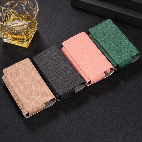 iQOS3 ケース iQOS 3 MULTI ケース アイコス3 マルチ カバー アイコス 3 ケース レザー製 布 アイコスケース 薄型 軽量 メンズ 革製 電子たばこ マルチポケット|rms-store|02
