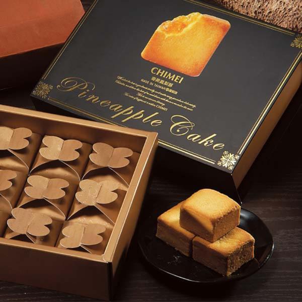 《奇美》黄金鳳梨酥/12個入(ゴールデンパイナップルケーキ)  《台湾 お土産》 rnet-servic