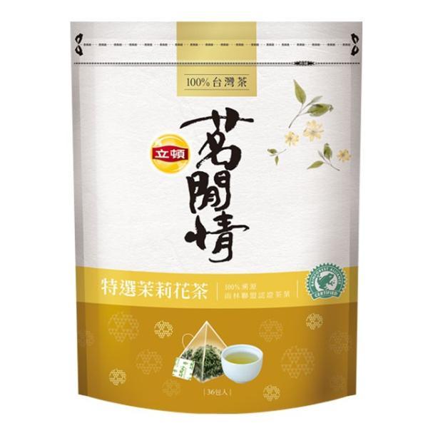 《立頓》 茗間情 茉莉花茶(台湾リプトン−ジャスミン茶)(三角ティーバッグ-40入/包) 《台湾 お土産》|rnet-servic