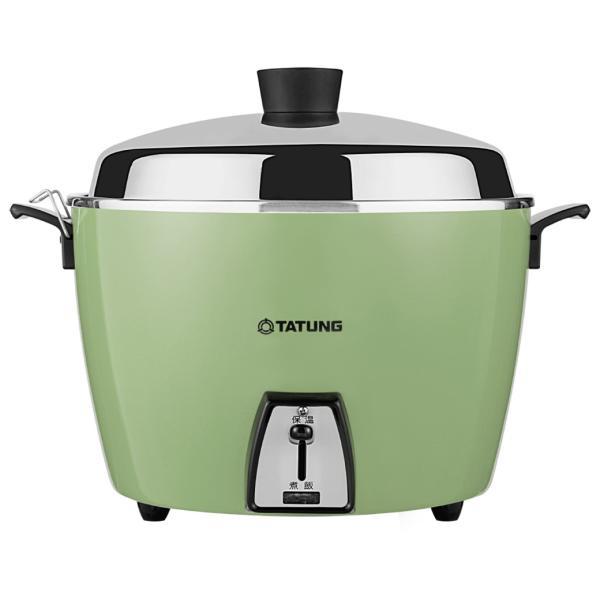 《TATUNG大同》電鍋★ステンレス万能電気炊飯器(10人用)★グリーン (TAC-10L-DG)★ 《台湾 お取り寄せ》