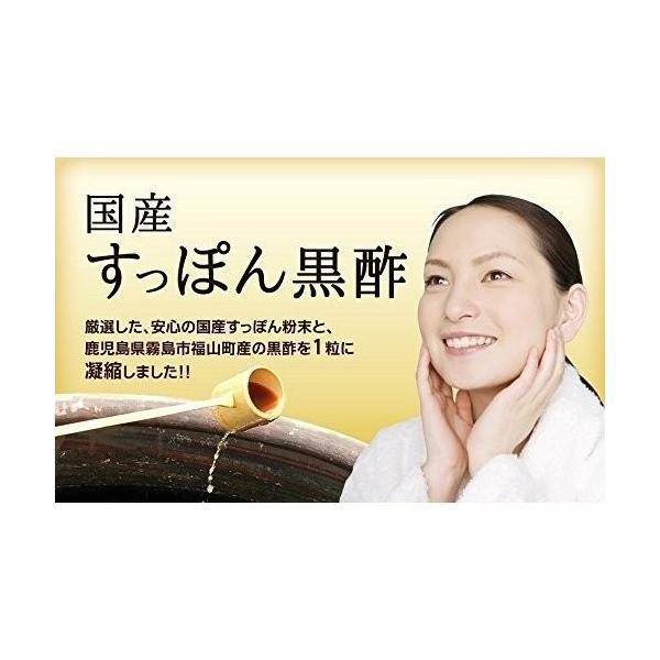 国産 すっぽん 黒酢   約3ヶ月分 90粒   アミノ酸 サプリメント|rnh25232pro|03