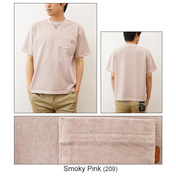 ピグメント 染め プレミアム 半袖 ポケット Tシャツ オリジナル USコットン 無地 カットソー 厚手 古着 風 スエット スウェット メンズ レディース PRPK-PIGMT robinjeansbug 05