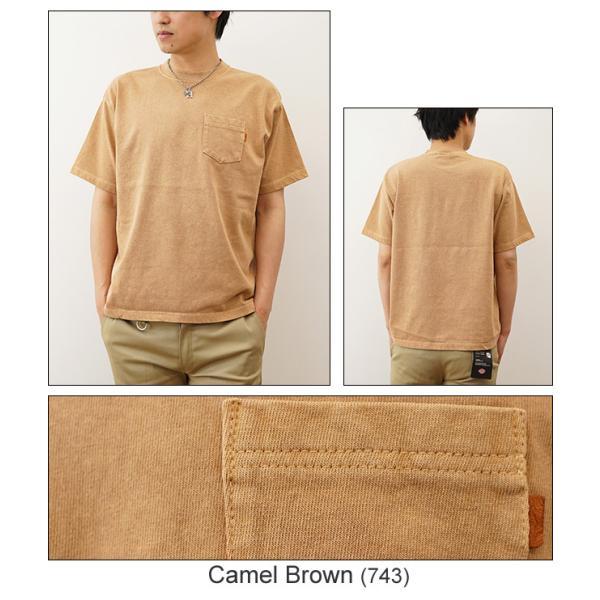 ピグメント 染め プレミアム 半袖 ポケット Tシャツ オリジナル USコットン 無地 カットソー 厚手 古着 風 スエット スウェット メンズ レディース PRPK-PIGMT robinjeansbug 08