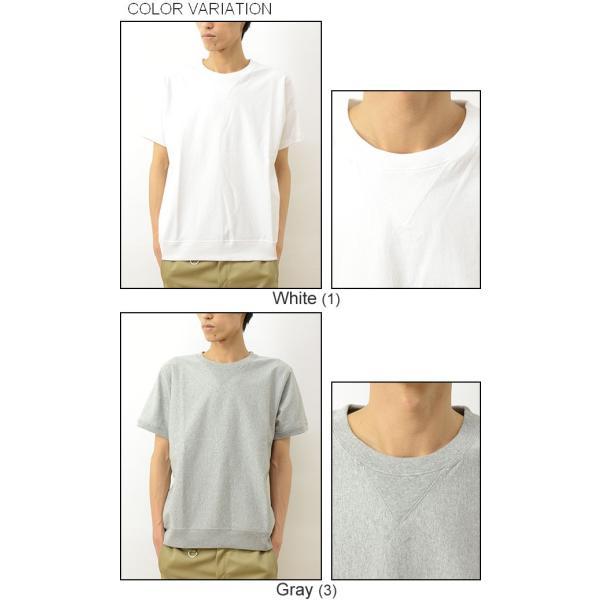 gym master ジムマスター ガゼット サイド パネル クルーネック Tシャツ メンズ レディース 無地 半袖 カットソー 厚手 スウェット スエット G521351 robinjeansbug 04