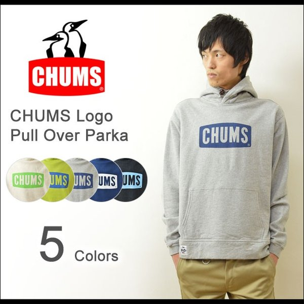 CHUMS(チャムス) チャムスロゴ プルオーバー パーカー スウェット メンズ スエット トレーナー 裏起毛 ジャージ フード アウトドア 定番 ペンギン CH00-0646|robinjeansbug