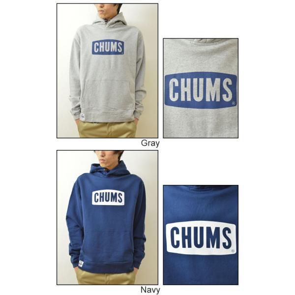 CHUMS(チャムス) チャムスロゴ プルオーバー パーカー スウェット メンズ スエット トレーナー 裏起毛 ジャージ フード アウトドア 定番 ペンギン CH00-0646|robinjeansbug|05