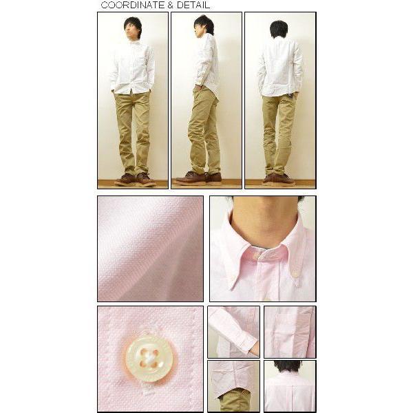 EDWIN(エドウィン) オックスフォード&チェック BDシャツ 大人のふだん着 ボタンダウン 無地シャツ チェックシャツ 45279|robinjeansbug|02