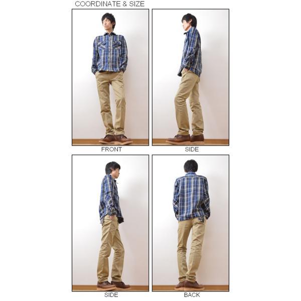(ヘビーネルシャツ)JEANSBUG オリジナルヘヴィーフランネル チェック柄 長袖シャツ メンズ レディース ワーク 厚手 ネルシャツ 大きいサイズ 16-2000JB|robinjeansbug|02