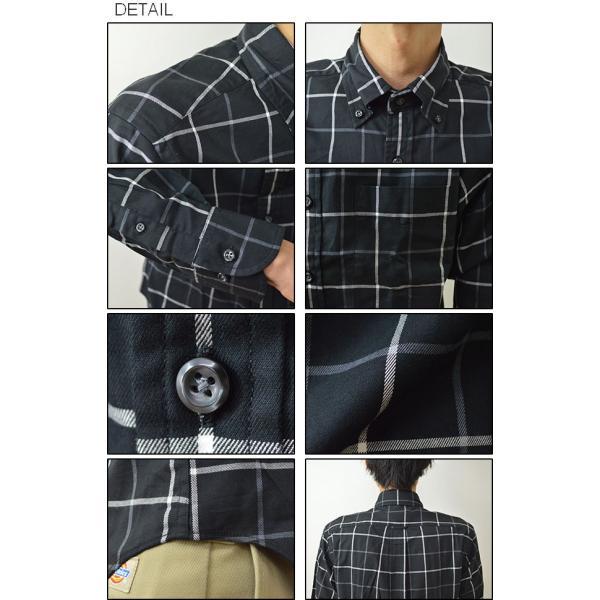 University of Oxford(オックスフォード) ウインドペン チェックシャツ メンズ ウインドーペン ボタンダウン 長袖 ナチュラルストレッチ 伸縮 0701-55101|robinjeansbug|03
