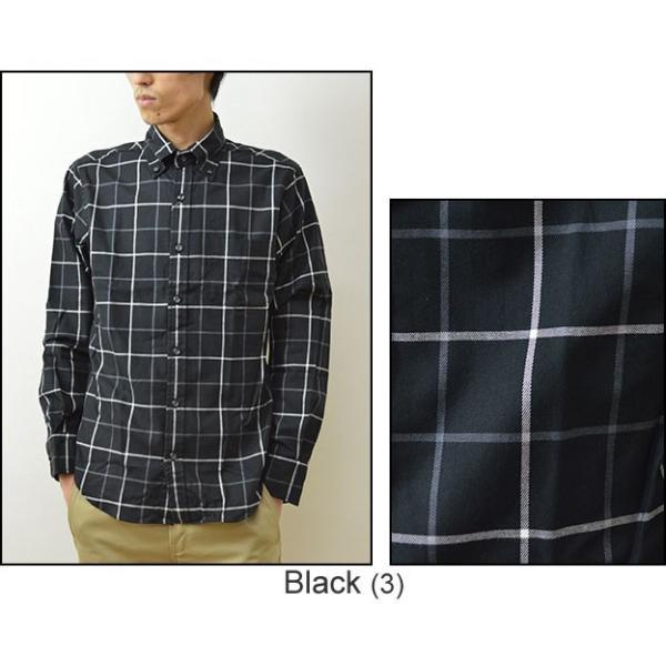 University of Oxford(オックスフォード) ウインドペン チェックシャツ メンズ ウインドーペン ボタンダウン 長袖 ナチュラルストレッチ 伸縮 0701-55101|robinjeansbug|05