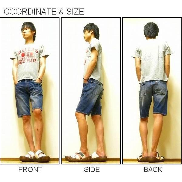 LEVI'S(リーバイス) 『503 Short pants』 RELAXED FIT STRAIGHT デニムショートパンツ Used Wash(0002) ショーパン ハーフパンツ Levis 【SH503-0002】|robinjeansbug|02