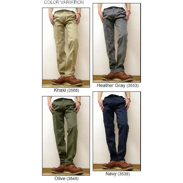RED KAP(レッドキャップ) Regular Jean Cut Workpants レギュラージーンズカット ワークパンツ 5ポケットチノパンツ REDKAP グローバルライン 【PT50J】|robinjeansbug|03