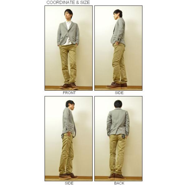 Slick(スリック) ドレスコード シルケット テーラードジャケット メンズ キレイめジャケット カジュアルジャケット 2B 裏毛 シルク タイト 細身 5168719|robinjeansbug|02