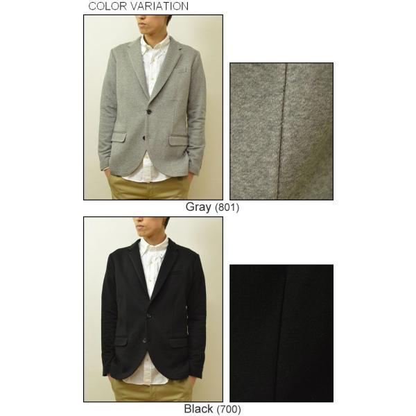 Slick(スリック) ドレスコード シルケット テーラードジャケット メンズ キレイめジャケット カジュアルジャケット 2B 裏毛 シルク タイト 細身 5168719|robinjeansbug|04