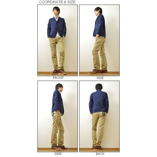 SONTAKU(ソンタク) オックスフォード 洗える シャツ ジャケット メンズ テーラード 3つボタン 日本製 家庭 洗濯可能 841HD15211|robinjeansbug|02