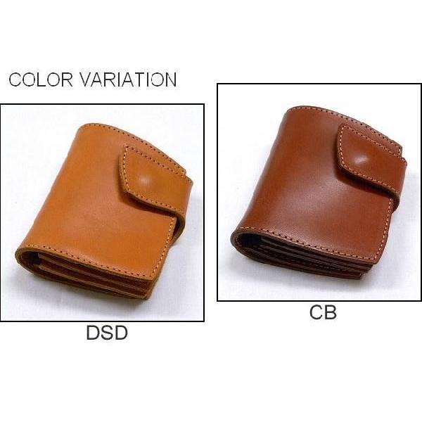 REDMOON/RRC Leather Short Wallet [RRC-NHR-01] レッドムーン/ダブルアールシー 二つ折り本革財布 サイフ ウォレット|robinjeansbug|03