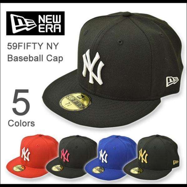 NEW ERA(ニューエラ) 59FIFTY ニューヨークヤンキース BBキャップ ベースボール ウール メンズ レディース 帽子 定番 アメリカ アメカジ ストリート NY 11121 robinjeansbug