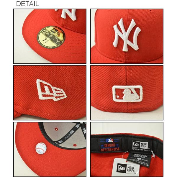 NEW ERA(ニューエラ) 59FIFTY ニューヨークヤンキース BBキャップ ベースボール ウール メンズ レディース 帽子 定番 アメリカ アメカジ ストリート NY 11121 robinjeansbug 03