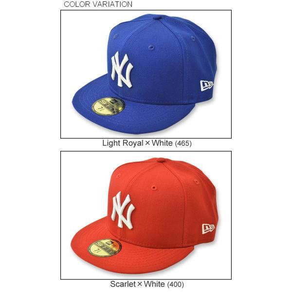 NEW ERA(ニューエラ) 59FIFTY ニューヨークヤンキース BBキャップ ベースボール ウール メンズ レディース 帽子 定番 アメリカ アメカジ ストリート NY 11121 robinjeansbug 04